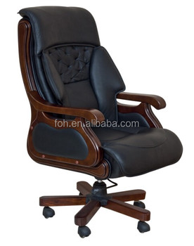 Luxury Executive Office Chairs Chairman Leather Chair Foh 0119