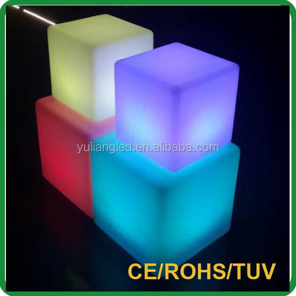 3w Mini 3d Led Cube Led Lighting Seating Seat Leon Led Light Seat Leon Led  Light