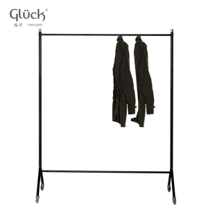 Metal colorful movable clothing display retail racks MOD.1210