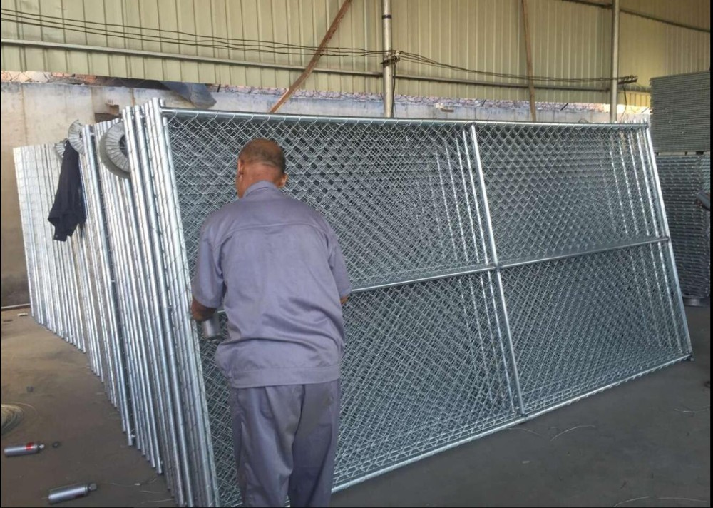 Temporary Chain Link Fence Panels Portable Event Fencing