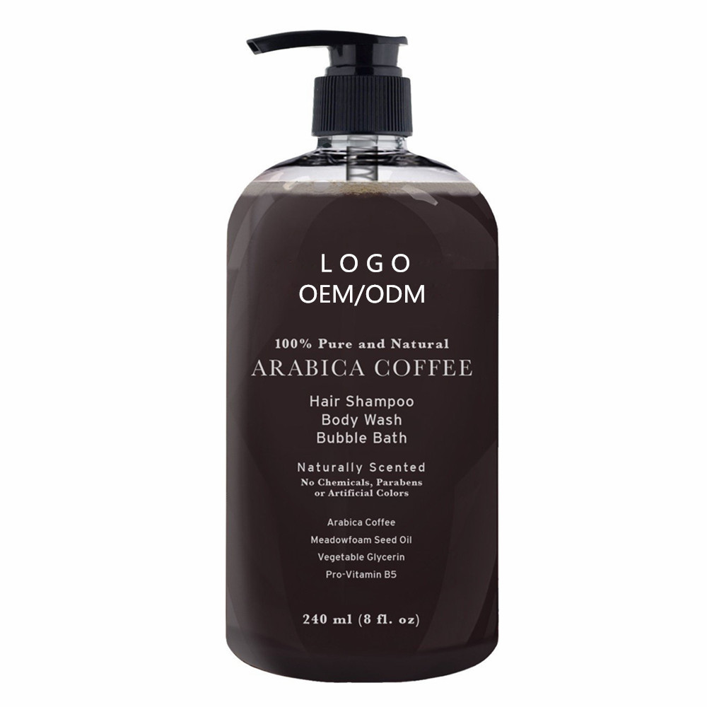 Private Label Caffè Arabica Anti Perdita Di Capelli Shampoo