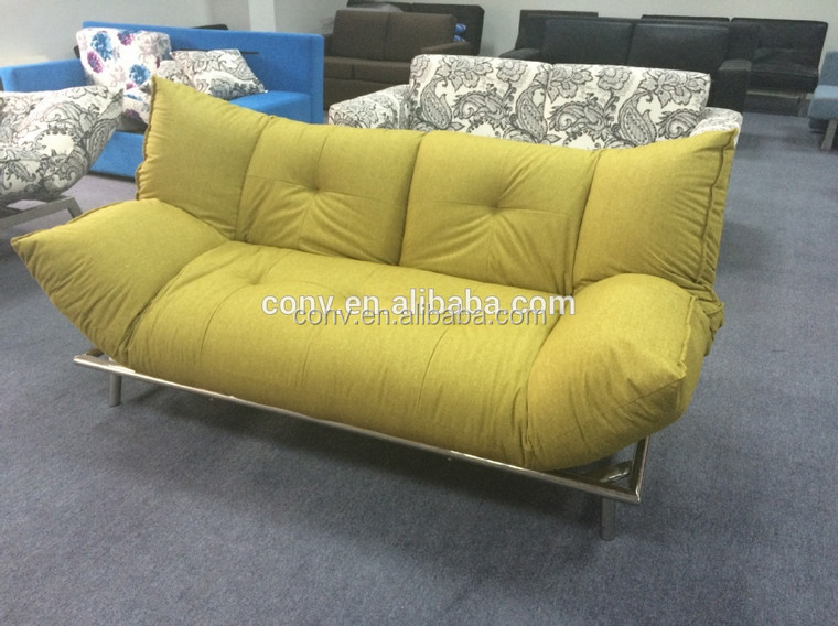 modern design click clack sofa bed designer metal sofa cum bed