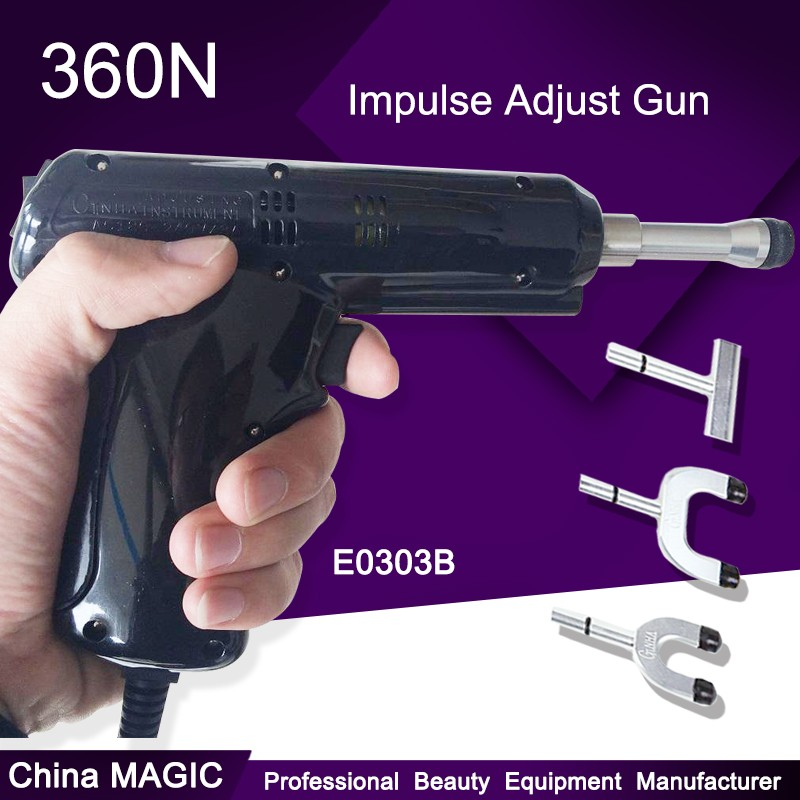 Electric Correction Activator Gun Massager 4 Heads Adjustable ...