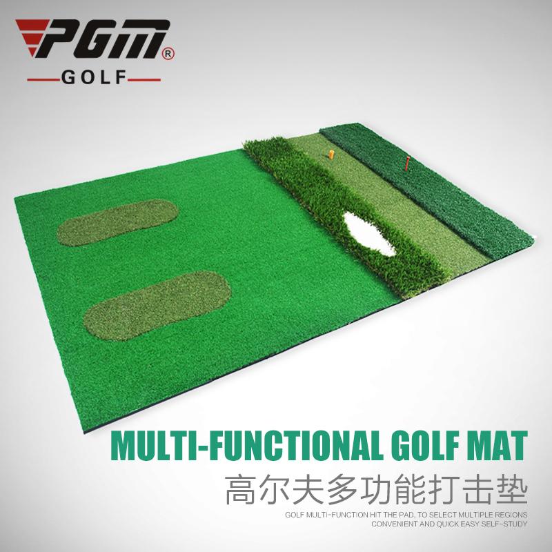 how to make a golf hitting mat