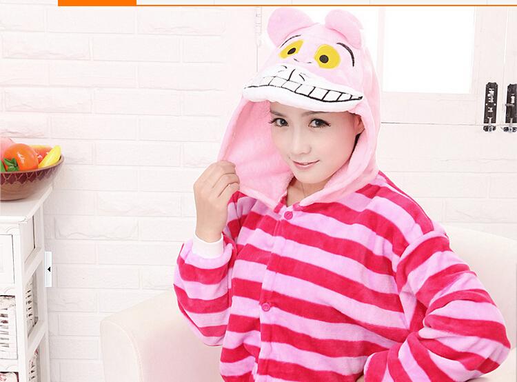 c664a73922 Get Quotations · Hot 2015 Onesie Unisex Adult Pajamas Cosplay Costume  Animal Onesie Sleepwear Suit Cheshire Cat