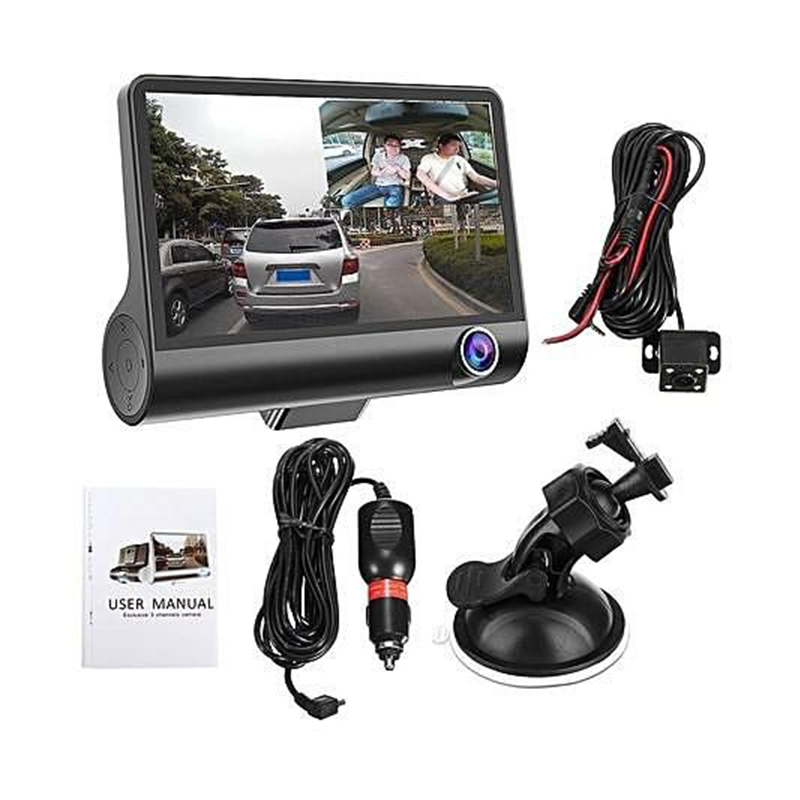 4 inch LCD Screen Size car dvr1080P driving recorder car camera dvr 1080p dash cam