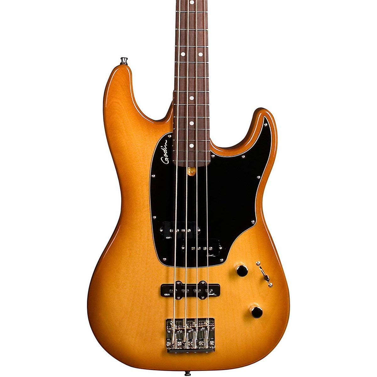 Get Quotations · Godin 036028 Shifter Classic 4 Crème Brulee HG RN 4 string  electric bass with gig bag