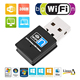 Mini black color factory direct sale 300mbps realtek 8192 chipset wireless wifi adapter