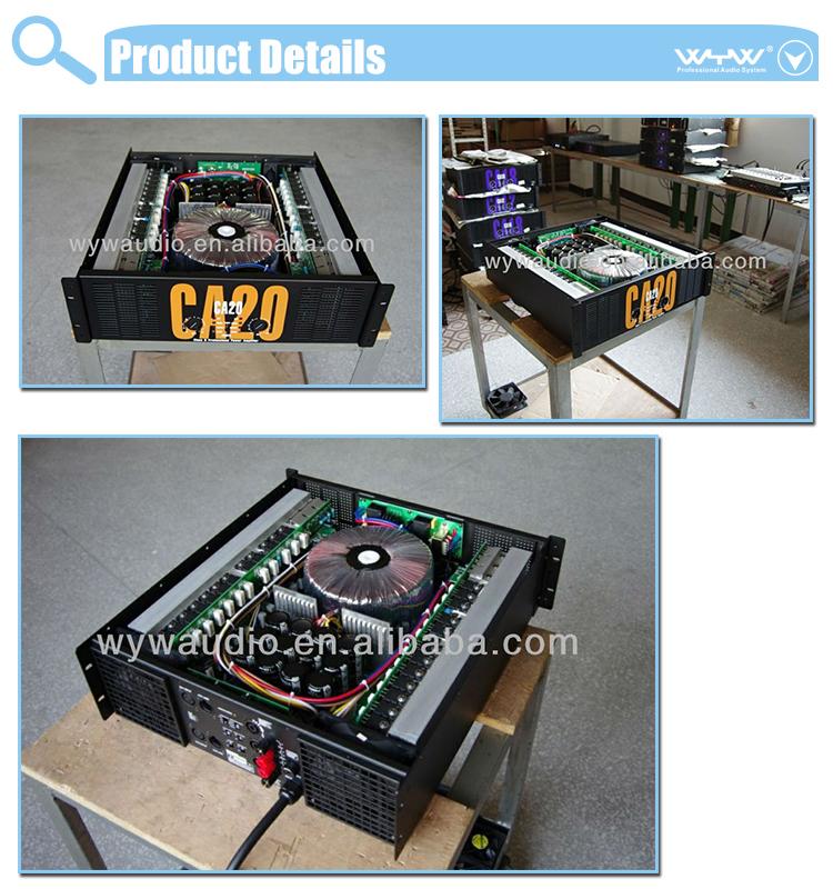 Soundstandard Ca20 Amplifier Service Manual