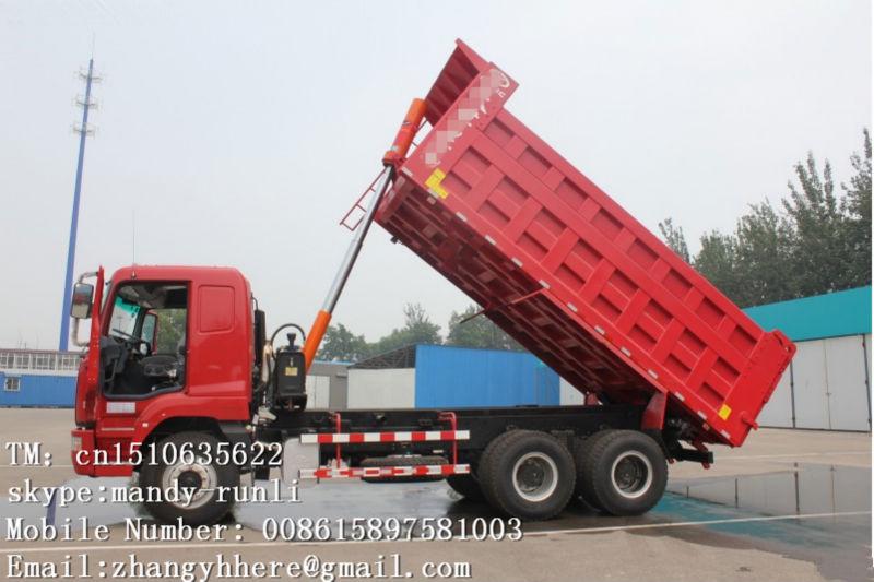 Hualing Camc 6x4 Dump Truck 25ton Man Diesel Tipper Truck