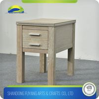 Luxury Living Room Furniture Wooden Coffee Side Table With Drawer