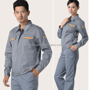 2019 OEM Unisex Workwear Industrial Uniform Jacket and Pants with Windbreaker Uniform Jackets