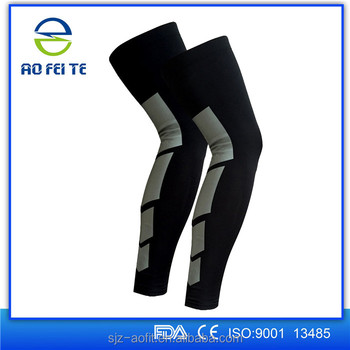 efe7461bc1 Amozan Hot Recovery Compression Leg Sleeves (Pair) - sport Football  Basketball Cycling Strech Leg