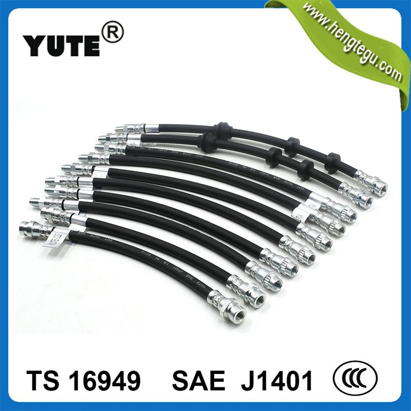 YUTE sae 30r9 fkm eco rubber double walled fuel hose
