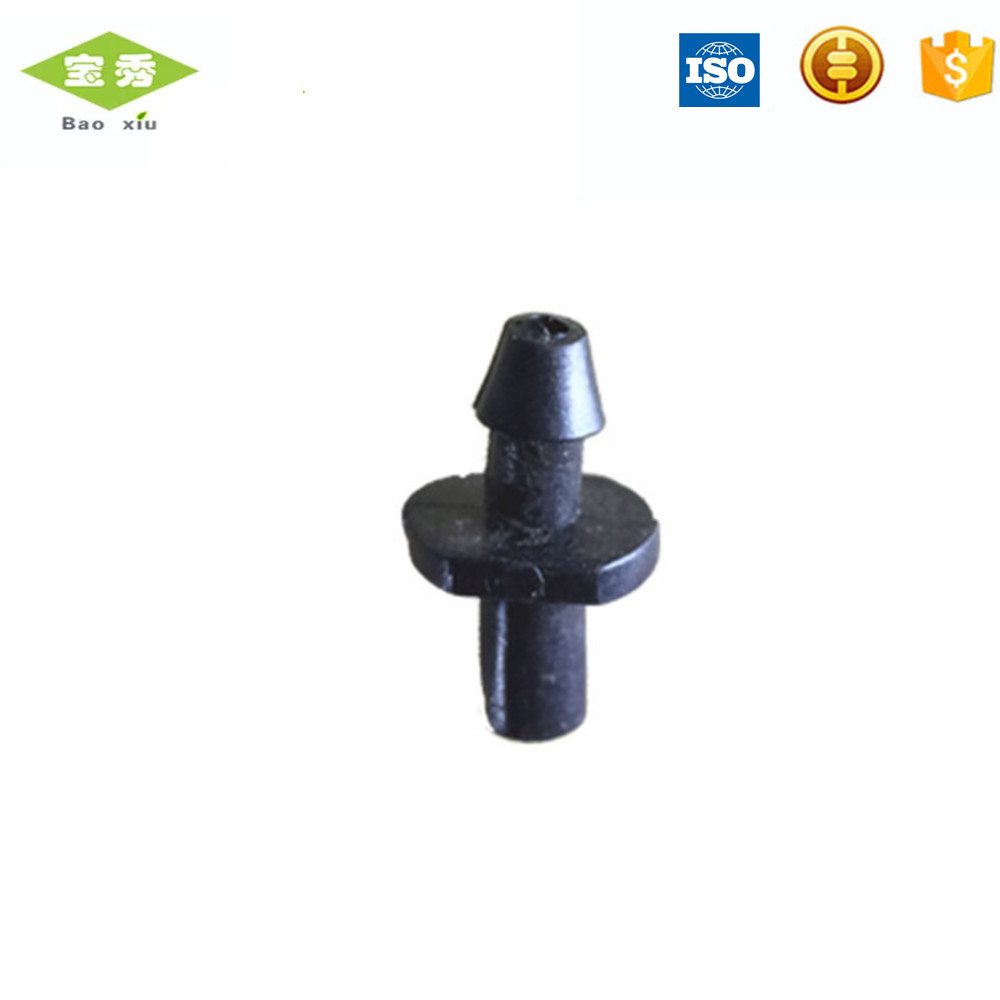 "6mm/7.5mm Single Barb Rechte Connector Water Snelkoppeling Pijp Connector Plastic voor Tuin Irrigatie 1/4"" slang 50 Pcs"