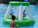Summer Party Swimming Pool Basketball Inflatable Floating Hoops Inflatable Water Hoop water Game toy
