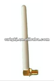 White color external cell phone antenna