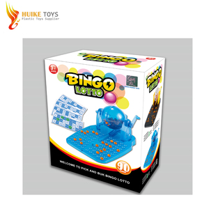 Cheap Plastic Bingo machine and lottery bingo game toys for child in 2018