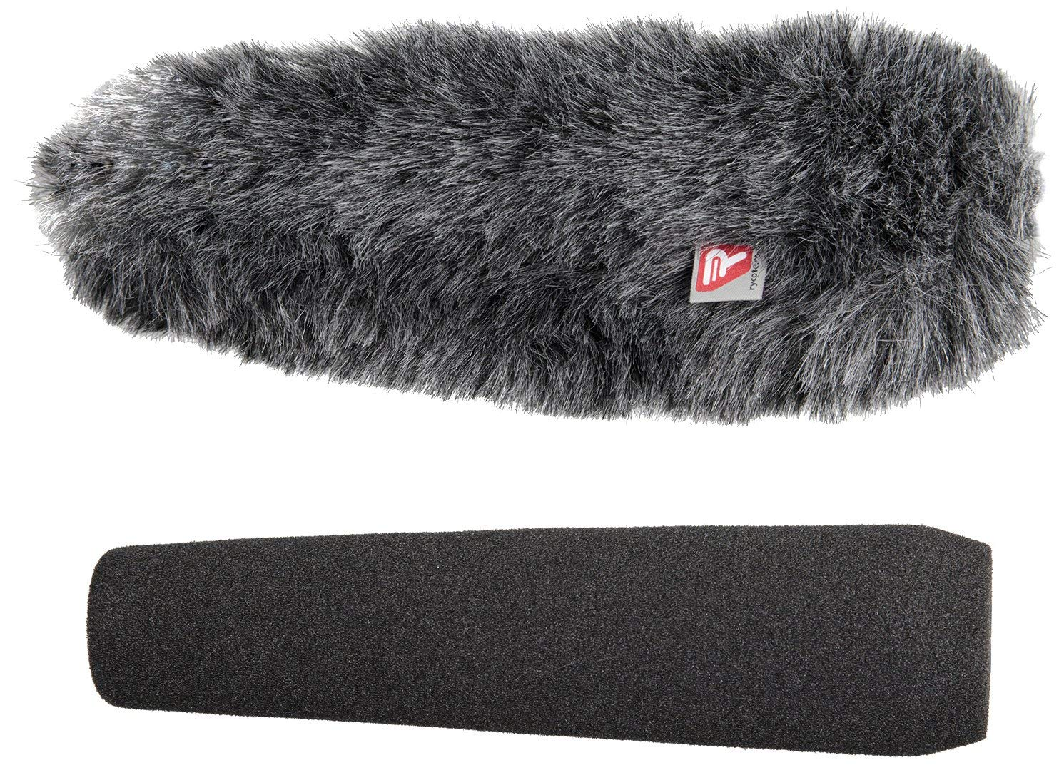 "Rycote 18cm/7.09"" ME66 SGM Foam and Windjammer Kit for Shotgun Microphones"