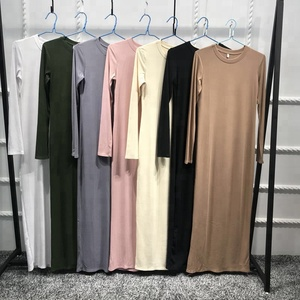 Long Sleeve Design by Dubai Dress Kaftan Fashion Abaya Islamic Muslim Dress