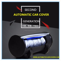 Sun Protection Anti Scrach Soft Lining and Night Reflective Design Car Cover