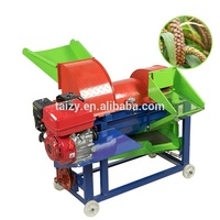 Low particle damage rate corn or maize bean threshing sheller and thresher machine
