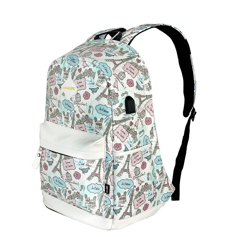JOYELIFE waterproof branded fashion <strong>school</strong> anti theft laptop backpack