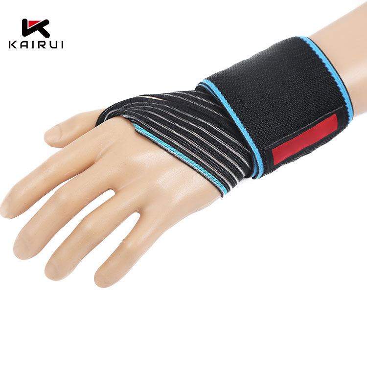 Free sample custom wrist wraps strap support gloves weight lifting weightlifting gym straps