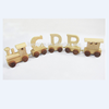 personalised wooden name train customize alphabet letter train for baby