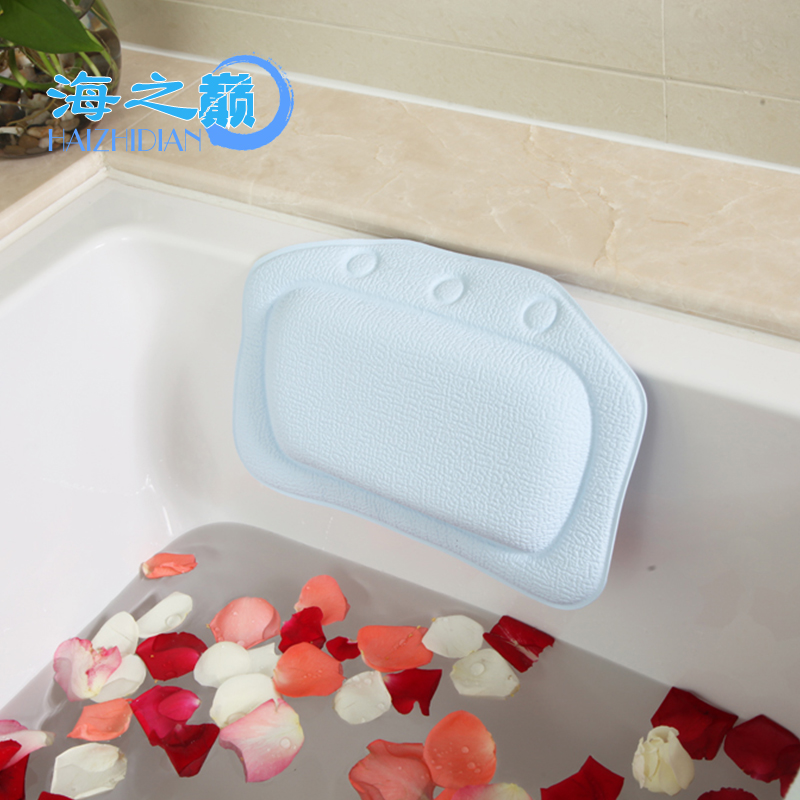 Super Comfortable Flat Head Microbeads Baby Bath Pillow