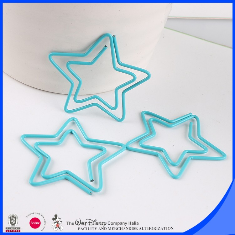 lovely star shape AA paper clip