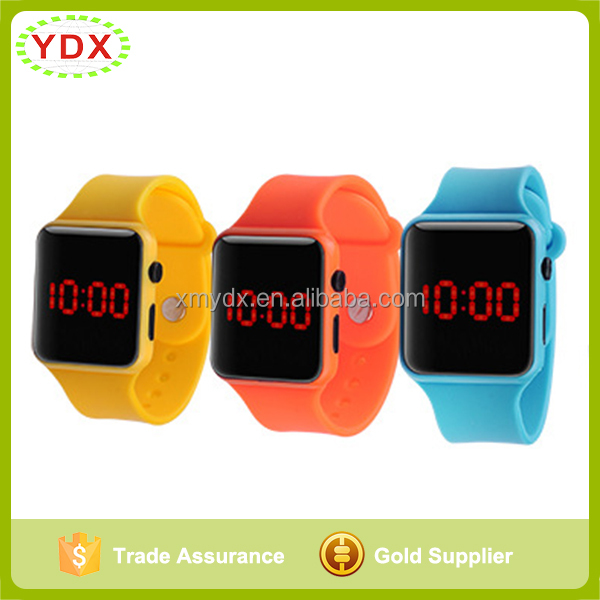 2016 The New Apple Silicone LED Watch