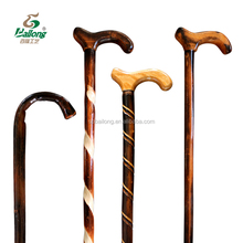 15 years professional factory varnished wooden walking stick