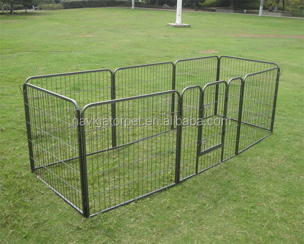 Heavy Duty Metal Dog Run Pet Enclosure