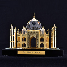 World Famous Landmark Model K9 Crystal Taj Mahal Building Figurine
