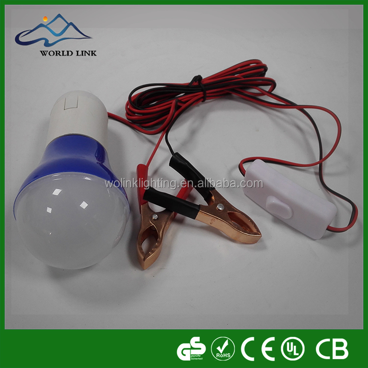 USD Clip plastic 12v 5w led bulb lights,no driver 12v bulb