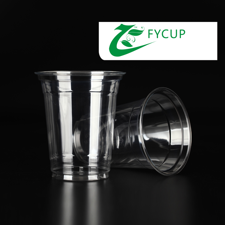 12 PET plastic cup disposable tea tasting cup