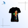 new fashion custom t shirt for men and women, 3d printing t shirt made in china