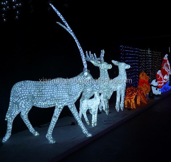 Led Christmas 3d Deer Light/christmas Decor Lights China/christmas ...