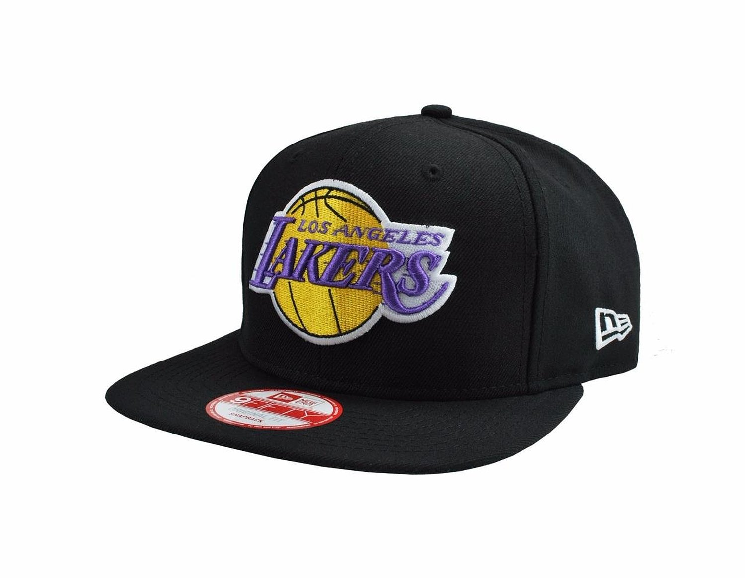 sneakers for cheap 97a1f cfa63 New Era 9fifty Hat Los Angeles Lakers Snapback ONE Size Black Cap