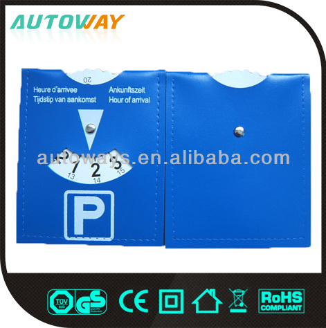 Euro popular plastic car automatic parking disc, hot promotion products