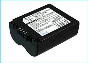 VINTRONS Li-ion BATTERY Pack Fits Panasonic CGA-S006E/1B, CGA-S006E, CGR-S006E, DMW-BMA7, Lumix DMC-FZ50