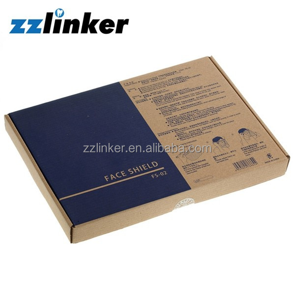 Zzlinker Dental Protective Face Guard 1frame+10sheets/box