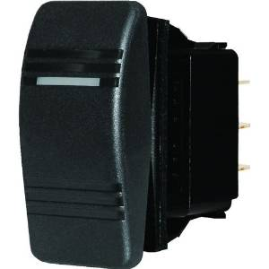 BLUE SEA SYSTEMS 8290 / Blue Sea 8290 Water Resistant Contura Switch - Black by Blue Sea Systems