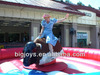 inflatable bull riding machine, soft head mechanical bull riding toys