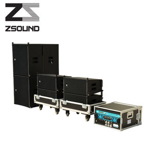 2018 zsound active line array+portable+active pa system+professional pa speaker