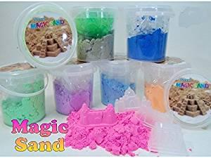 Intertoys - Magic Sand. 608716. Magic Sand, Create sand 500gr (Random Model)