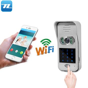 Home Security Door Entry Password Unlock Wireless Wifi Ip Video Door Phone  - Buy Video Door Phone,Wireless Video Door Phone,Ip Video Door Phone