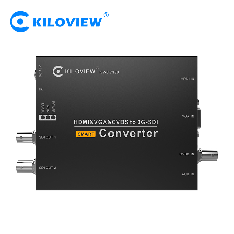 Ultra small size 1080i to 1080p composite to sdi converter