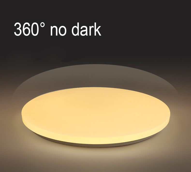 New!! ultra slim Modern living room Surface Mounted 12W 18W 24W Round kitchen Ceiling LED Light